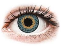 Kontaktní čočky - Expressions Colors Blue - nedioptrické