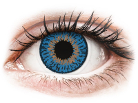 Kontaktní čočky - Expressions Colors Dark Blue - nedioptrické