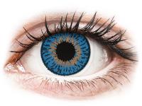 Kontaktní čočky - Expressions Colors Dark Blue - dioptrické