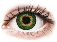 Kontaktní čočky - Expressions Colors Green - dioptrické