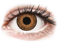 Kontaktní čočky - Expressions Colors Hazel - dioptrické