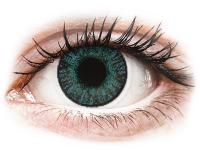 Kontaktní čočky - FreshLook ColorBlends Brilliant Blue - dioptrické