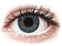 Kontaktní čočky - FreshLook ColorBlends True Sapphire - dioptrické