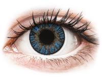 Kontaktní čočky - FreshLook ColorBlends True Sapphire - nedioptrické