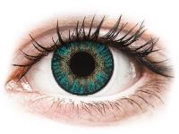 Kontaktní čočky - FreshLook ColorBlends Turquoise - nedioptrické