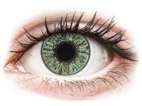Kontaktní čočky - FreshLook Colors Green - dioptrické