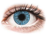 Kontaktní čočky - FreshLook Colors Sapphire Blue - dioptrické