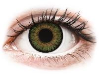 Kontaktní čočky - FreshLook One Day Color Green - nedioptrické