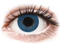 Kontaktní čočky - FreshLook Dimensions Pacific Blue - nedioptrické