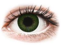 Kontaktní čočky - FreshLook Dimensions Sea Green - dioptrické