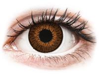 Kontaktní čočky - Expressions Colors Brown - dioptrické
