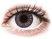 Kontaktní čočky - TopVue Color - Violet - nedioptrické