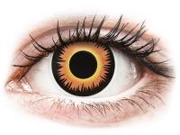 Kontaktní čočky - ColourVUE Crazy Lens - Orange Werewolf - nedioptrické jednodenní