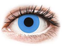 Kontaktní čočky - ColourVUE Crazy Lens - Sky Blue - nedioptrické jednodenní
