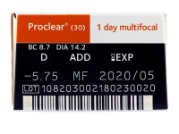 Proclear 1 Day multifocal (30 čoček)