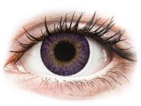 Kontaktní čočky - Air Optix Colors - Amethyst - dioptrické