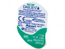 Dailies AquaComfort Plus Toric (30čoček)