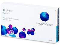 Kontaktní čočky - Biofinity Toric