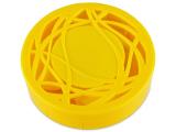 Kontaktní čočky - Kazetka s ornamentem - žlutá