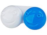 Kontaktní čočky - Pouzdro na čočky 3D - modré