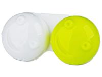 Kontaktní čočky - Pouzdro na čočky 3D - zelené