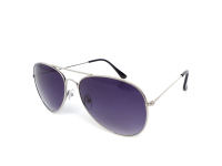 Kontaktní čočky - Sluneční brýle Alensa Pilot Silver