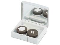 Kontaktní čočky - Elegantní kazetka - stříbrná