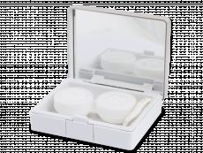 Kontaktní čočky - Elegantní kazetka -stříbrná