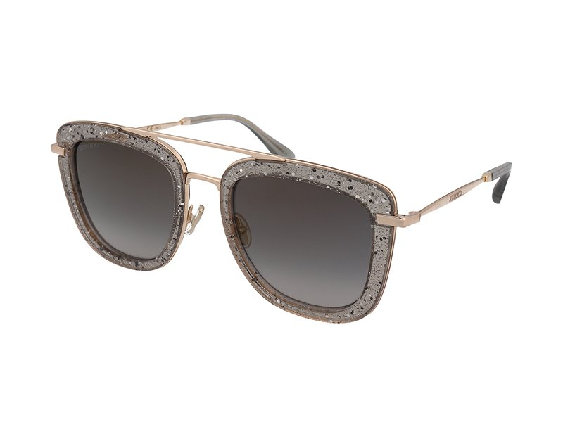 Jimmy Choo glossy Sunglasses Pink - Lyst