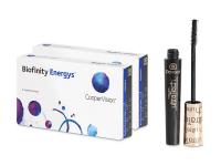 Kontaktní čočky - Biofinity Energys (2x 3 čočky)