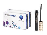 Kontaktní čočky - Biofinity Energys (2x 6 čoček)