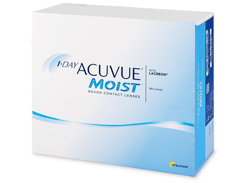 Image of 1 Day Acuvue Moist (180Linsen)