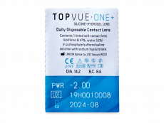 TopVue One+ (30 čoček)