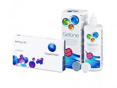 Biofinity XR (3 čočky) + roztok Gelone 360 ml