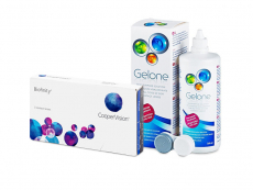 Biofinity (3 čočky) + roztok Gelone 360 ml