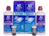 Kontaktní čočky - Roztok AO SEPT PLUS HydraGlyde 2 x 360ml