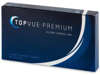 Kontaktní čočky TopVue Premium (6čoček)