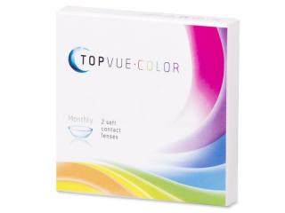 Kontaktní čočky TopVue Color - dioptrické (2čočky)