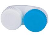 Kontaktní čočky - Pouzdro na čočky modro-bílé L+R