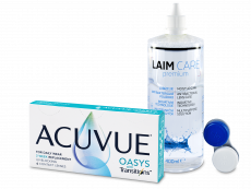 Acuvue Oasys with Transitions (6 čoček) + roztok Laim-Care 400 ml