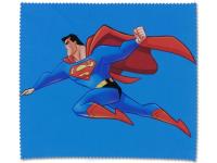 Kontaktní čočky - Čisticí hadřík na brýle - Superman