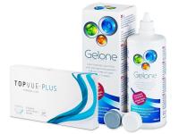 TopVue Plus (6 čoček) + roztok Gelone 360 ml