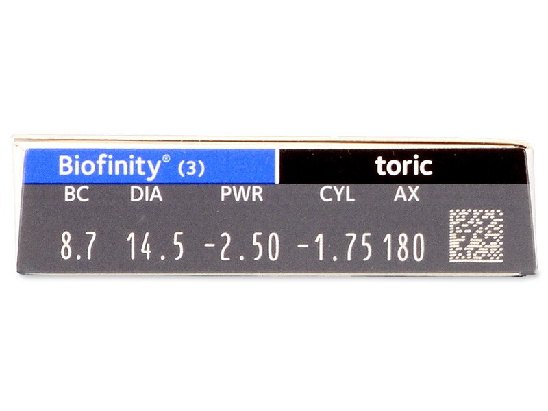 Biofinity Toric (3čočky)