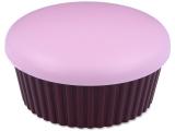 Kontaktní čočky - Kazetka se zrcátkem Muffin - růžová