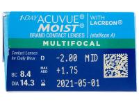 1 Day Acuvue Moist Multifocal (30 čoček)
