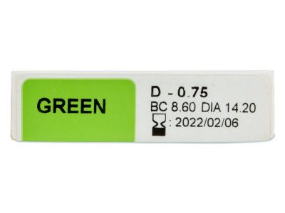 TopVue Color - dioptrické jednodenní (10 čoček)