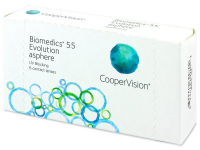 Kontaktní čočky - Biomedics 55 Evolution