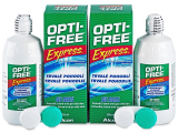 Kontaktní čočky - Roztok OPTI-FREE Express 2x355ml