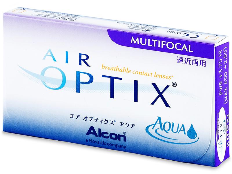 Air Optix Aqua Multifocal (3čočky)