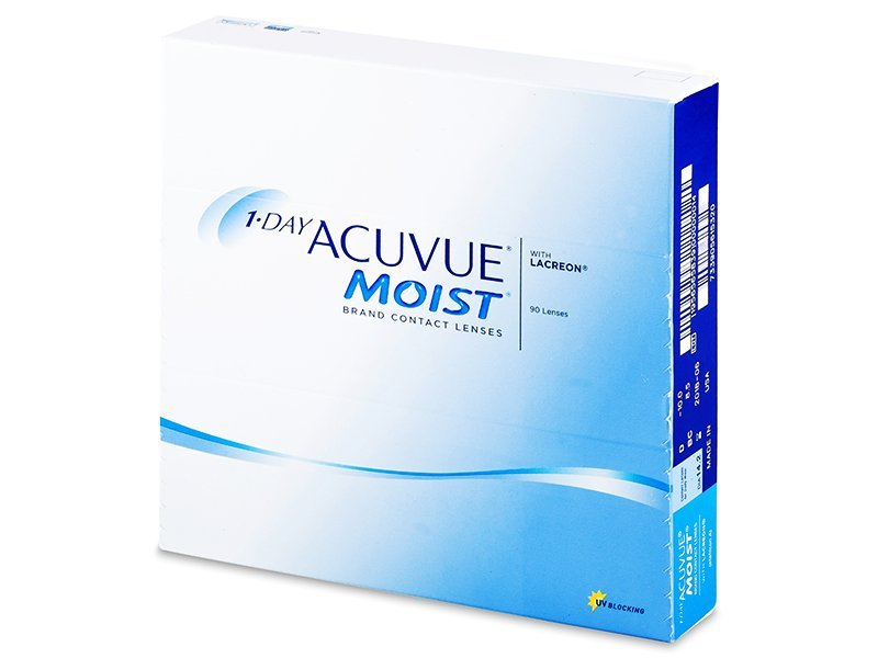 Image of 1 Day Acuvue Moist (90Linsen)